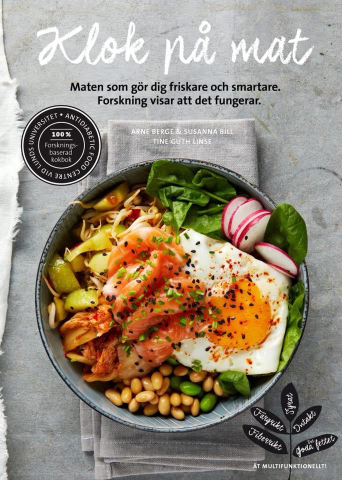 Klok på mat – boksignering och smakprov!