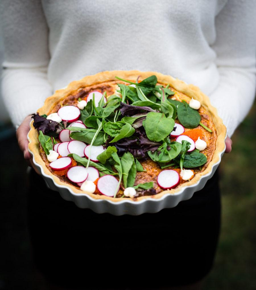 Recept på klassisk Västerbottenpaj