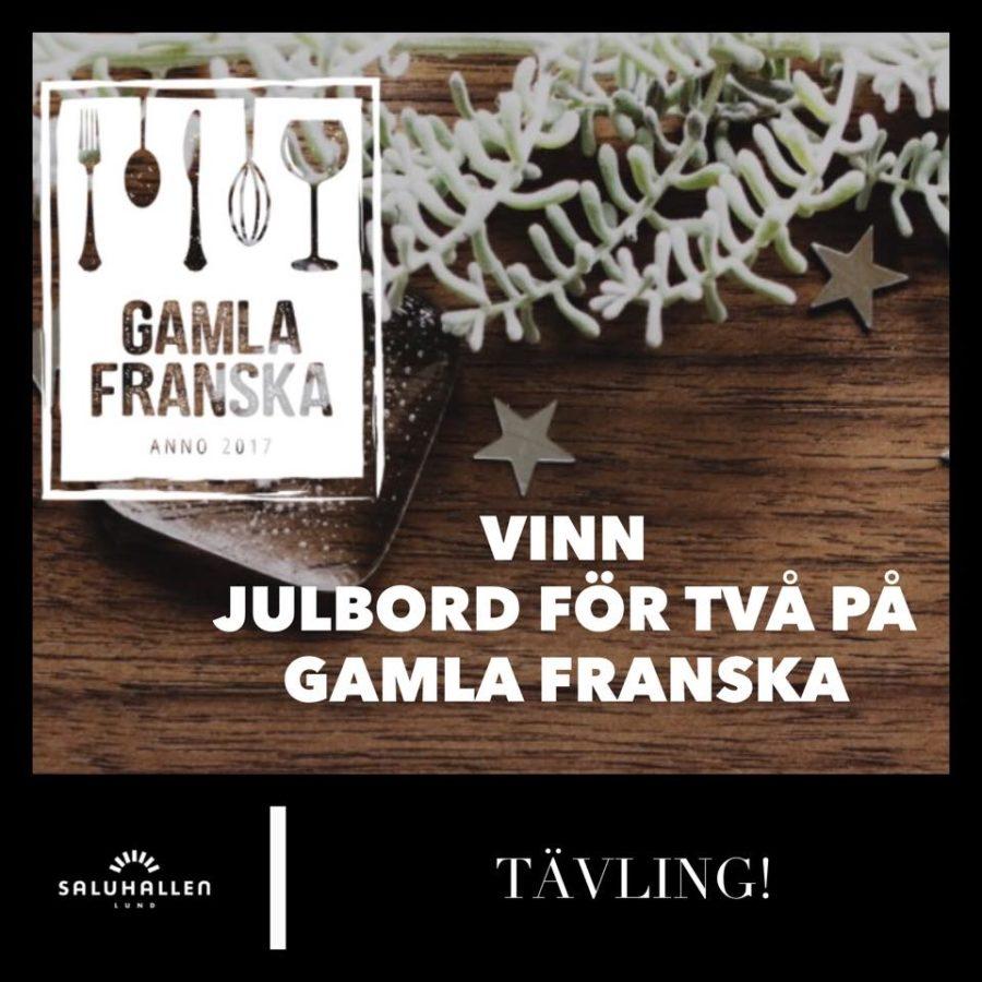 TÄVLING! Vinn julbord för två på Gamla Franska